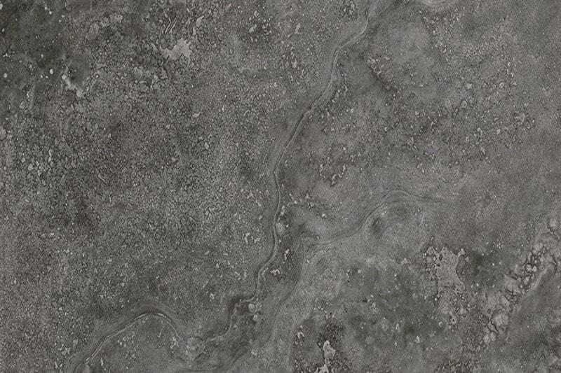 Black marbled tile swatch