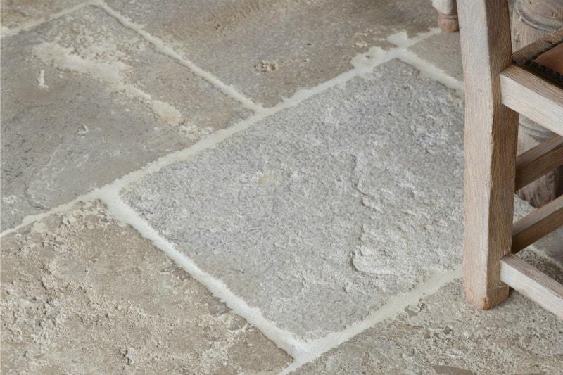 Aged limestone swatch