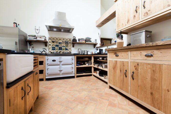 Terracotta Brick flooring