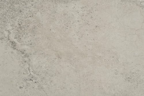 Mottled grey porcelain flooring