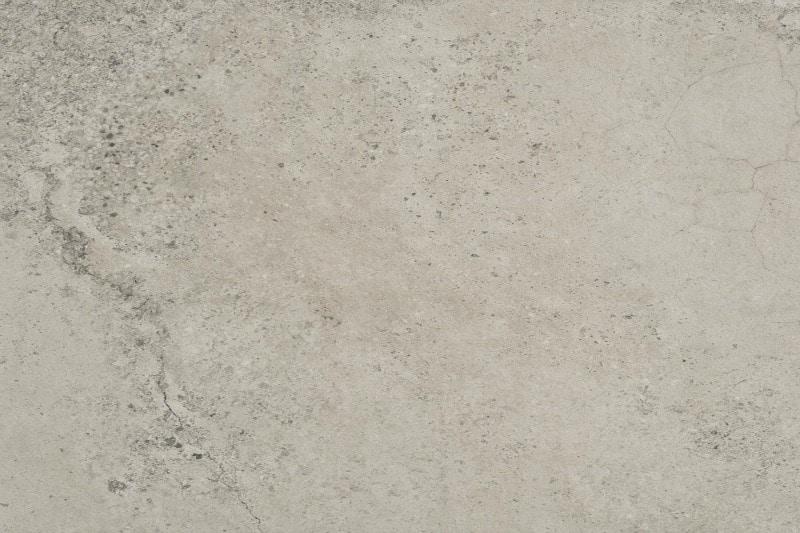 Mottled grey porcelain flooring