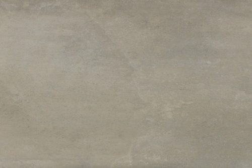 Cement coloured porcelain flooring