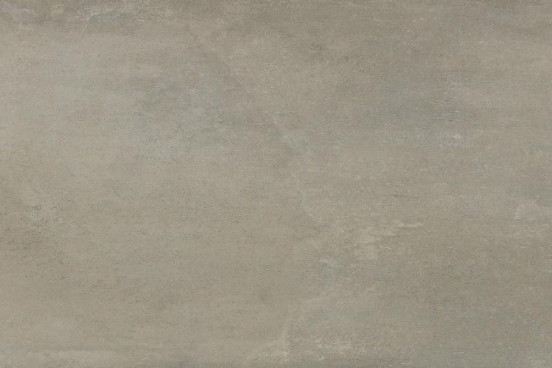 Cement coloured porcelain flooring
