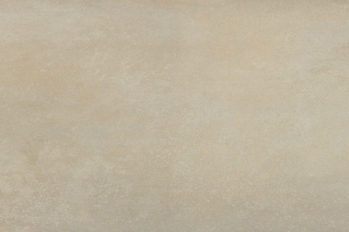 Sand coloured porcelain flooring