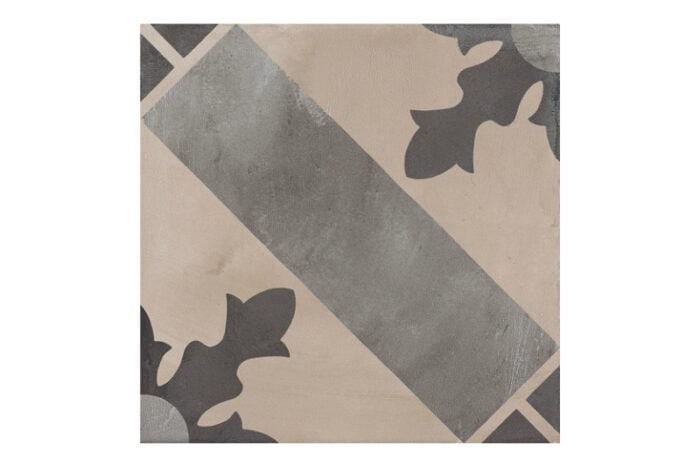 Patterned tile labelled 2
