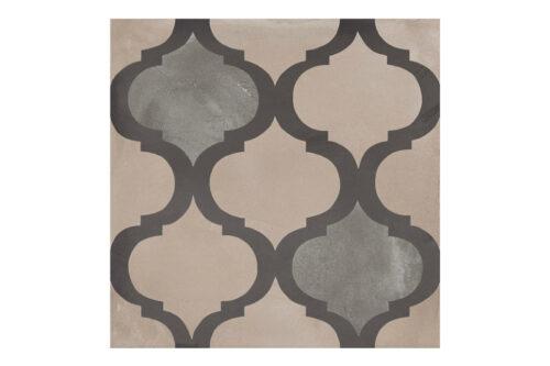 Patterned tile labelled 3