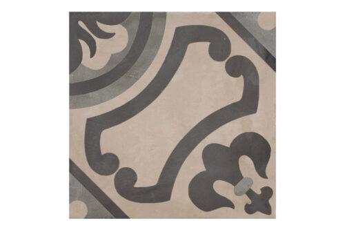 Patterned tile labelled 5