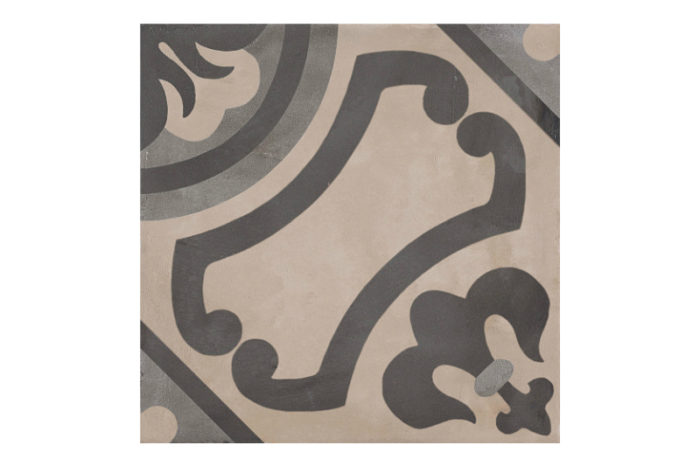 Patterned tile labelled 5
