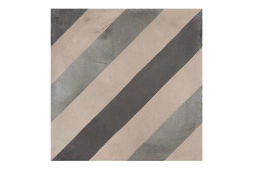 Patterned tile labelled 9