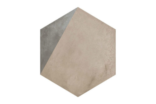 Hexagon Patterned tile labelled 11