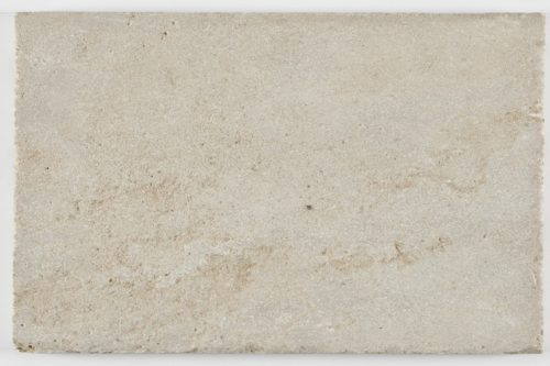 Aged cream limestone swatch