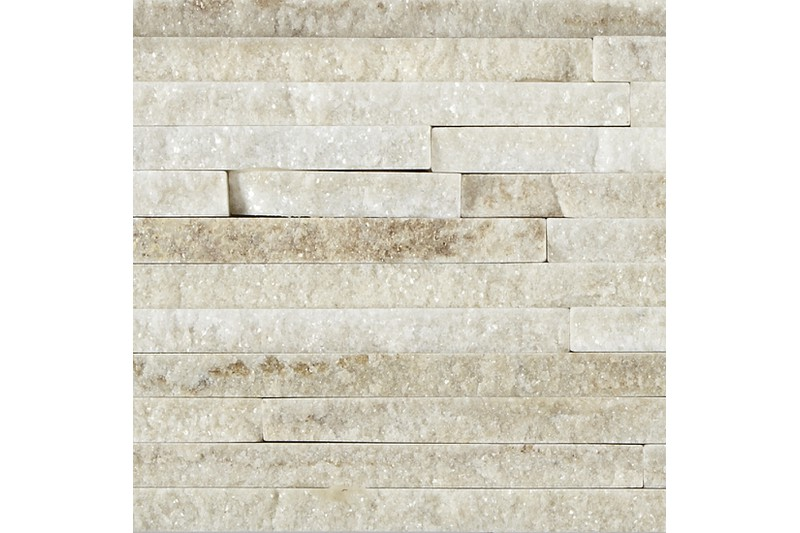 White Quartzite Mini Splitface swatch