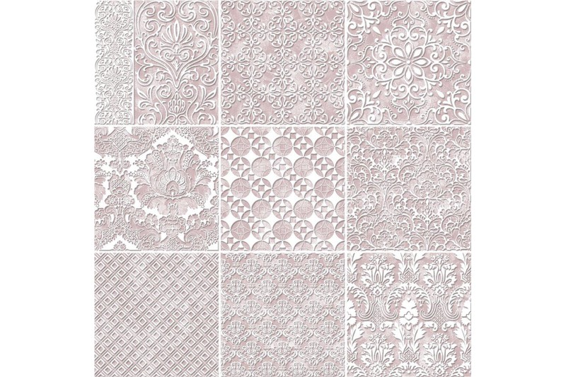 Pink decorative swatch