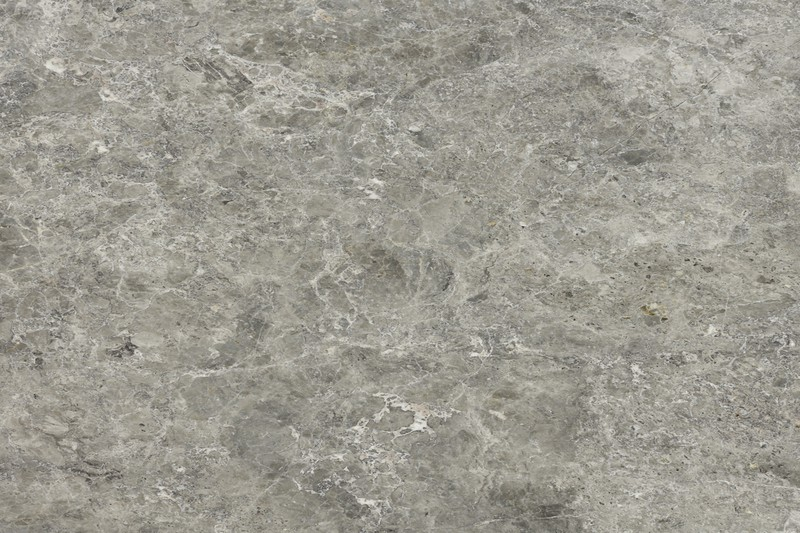 Honed veined grey marble swatch