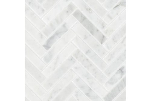 Honed 15x75mm Herringbone Mosaic