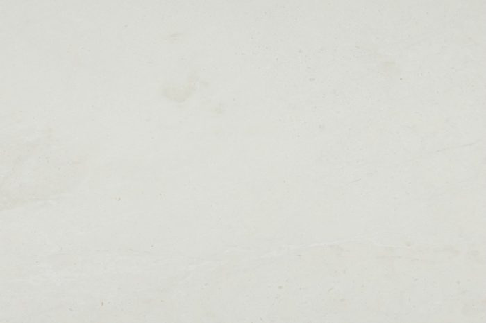 White honed marble swatch