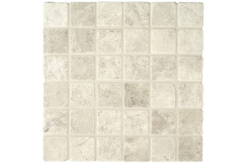 Beige Tumbled 50mm Mosaic swatch