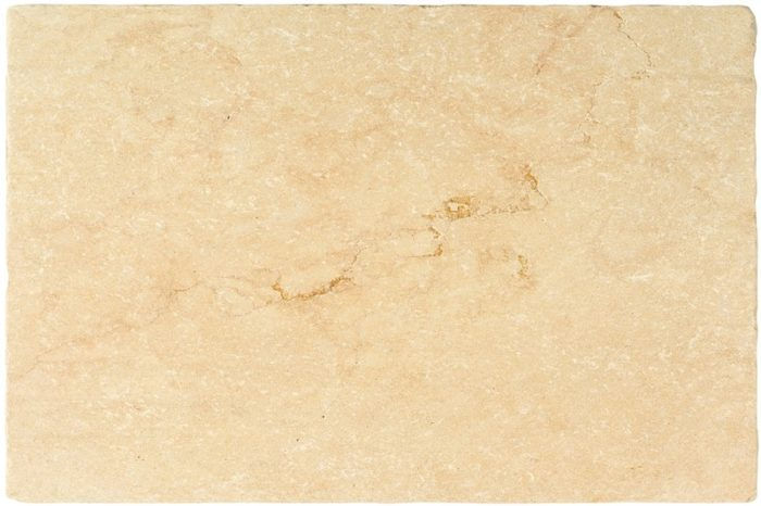 Gold Tumbled Limestone swatch