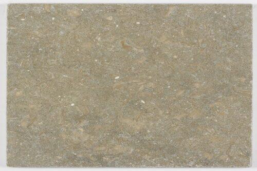 Tumbled mink limestone swatch