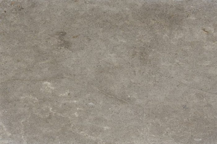 Tumbled grey limestone swatch