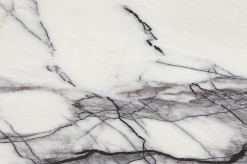 Violet veined polished marble swatch