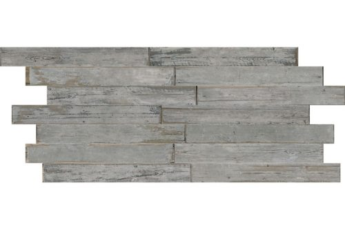 Grey Distressed wood effect porcelain swatch