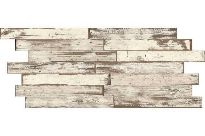 Dove Distressed wood effect porcelain swatch
