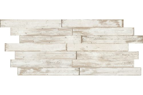 Light white Distressed wood effect porcelain swatch