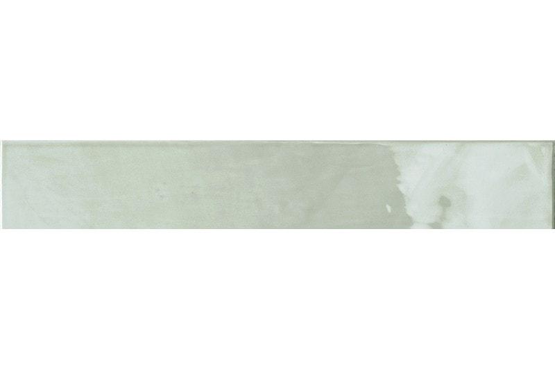 400x65mm gloss light grey tile