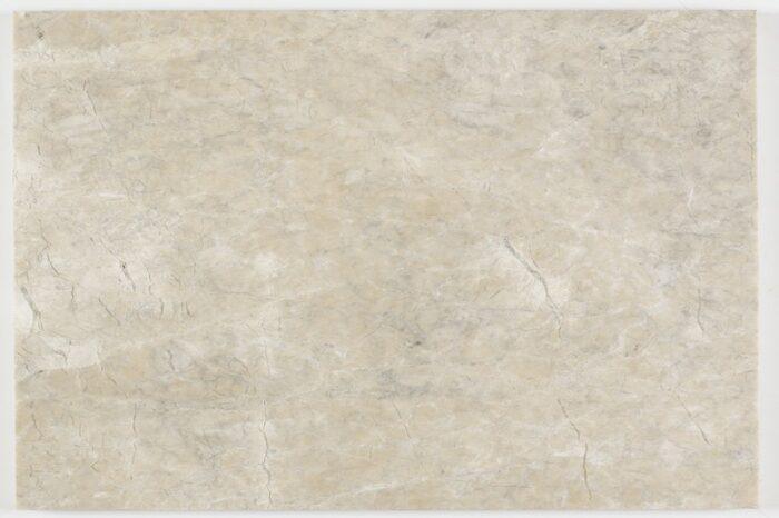 Honed cream marble swatch