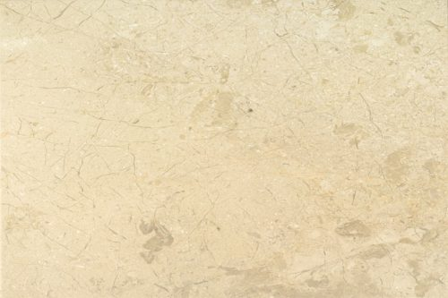 Polished cream marble swatch