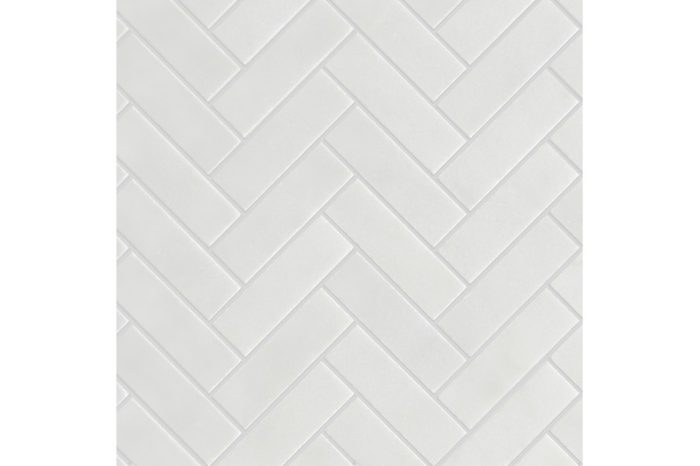 Marble Honed Herringbone Mosaic