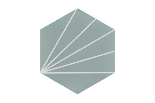 Mint pod style porcelain tile