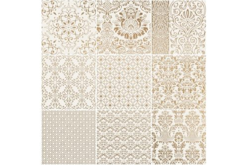 Gold decorative porcelain tile