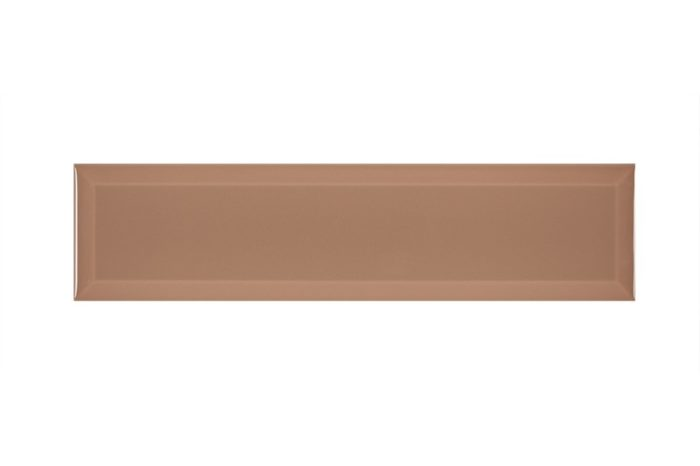 Brown colour subway shaped swatch