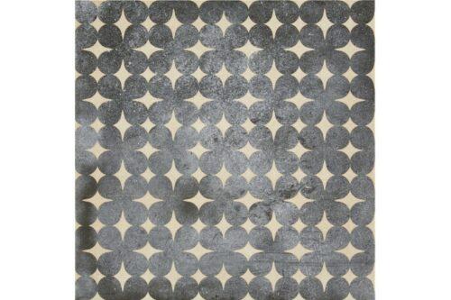 Blue decor porcelain tile