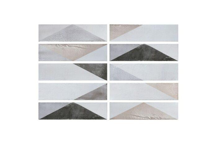 Latte mix decor tiles swatch