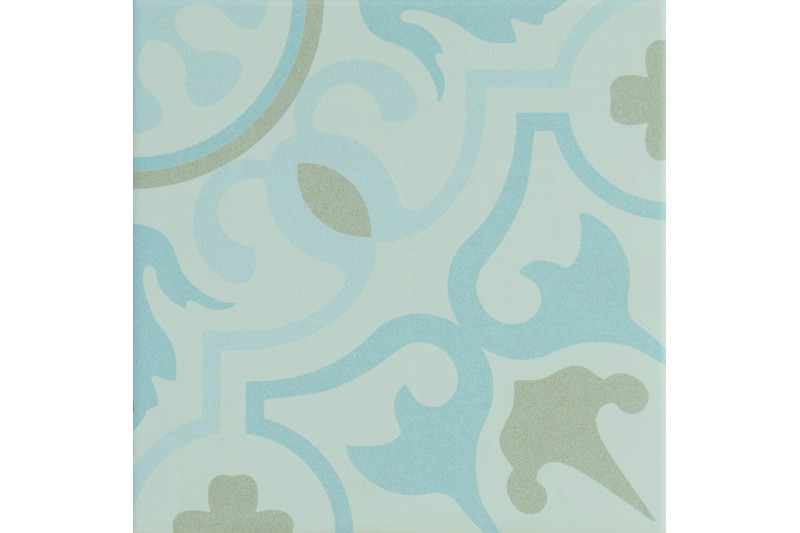blue and grey decorative tile swatch