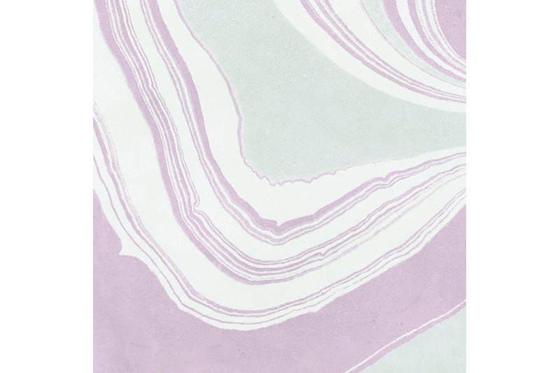pink marbled tile swatch