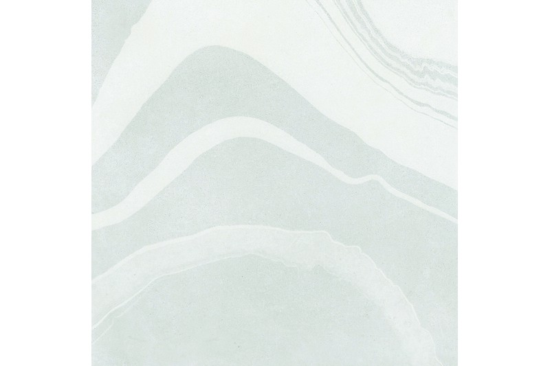 silver marbled tile swatch