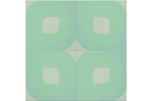 Eye design blue tile swatch