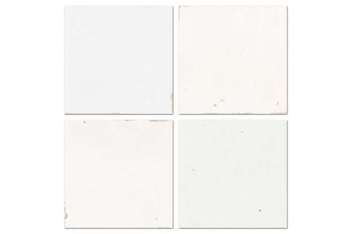 White tile swatch