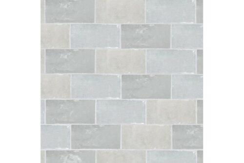 Grey metro gloss tile swatch