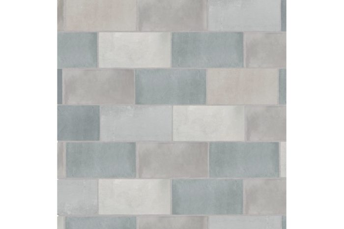 Grey metro matt tile swatch