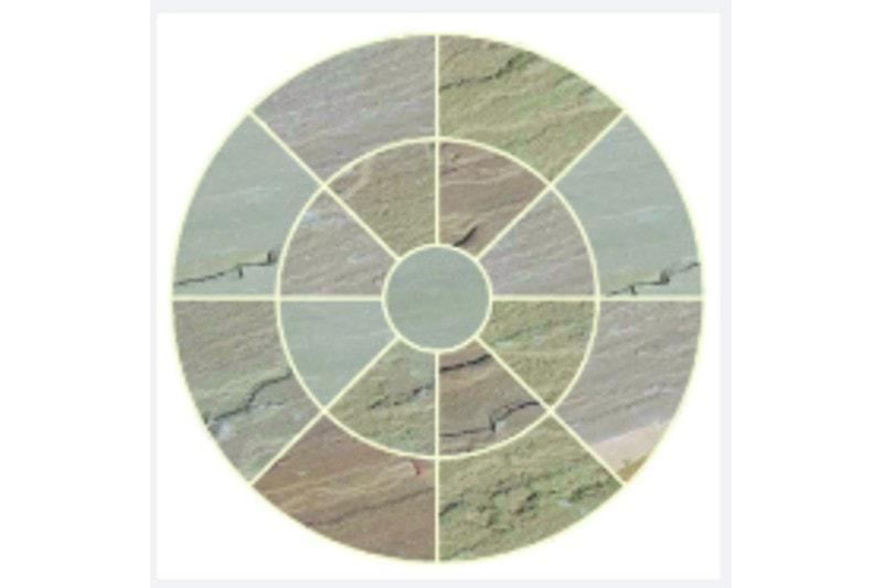 sandstone circle image