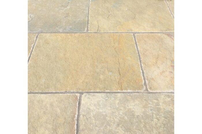 limestone paving in situ