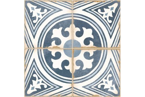 blue decorative tile swatch