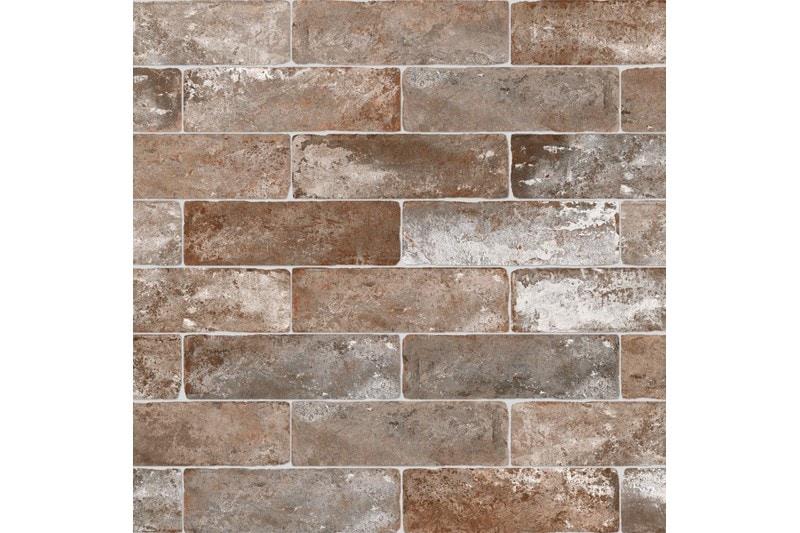 aged brick tile swatch