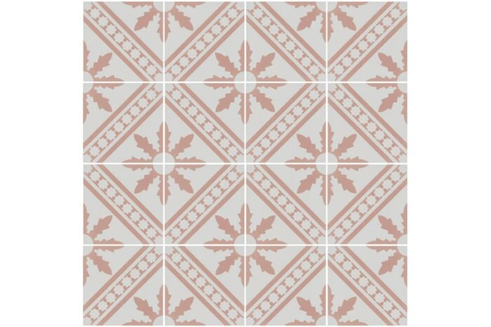 pink decorative tile swatch