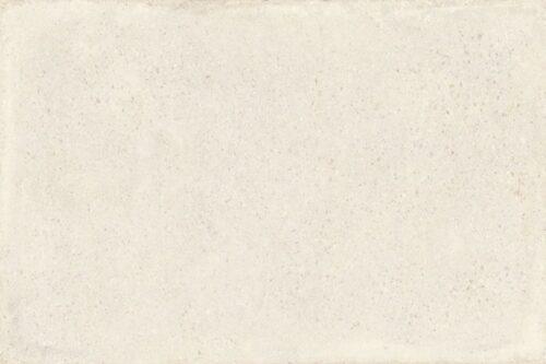 white concrete effect porcelain tile swatch
